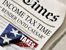 4372605-Render-Unto-Caesar-Newspaper-ficititious-headlines-about-Income-Tax-Time-Also-includes-image-of-flag-Stock-Photo[1]